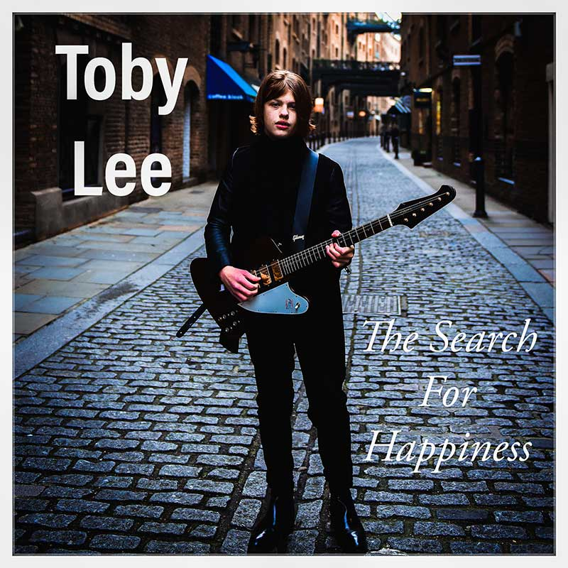 Single cover for Toby Lee - The Search for Happiness